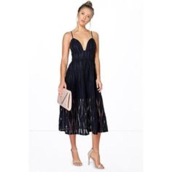 d78d307f43ab Boohoo Dresses | Sia Boutique Organza Midi Uk Size 8 Us4 | Poshmark